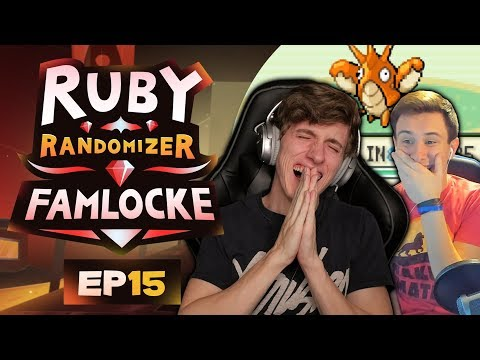 ROASTING RYAN! | Pokemon Ruby Randomizer Famlocke EP 15