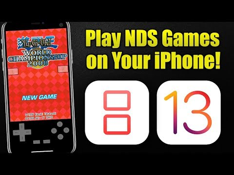 How To Install INDS Nintendo DS Emulator On IOS 13 (No Jailbreak & No Computer)