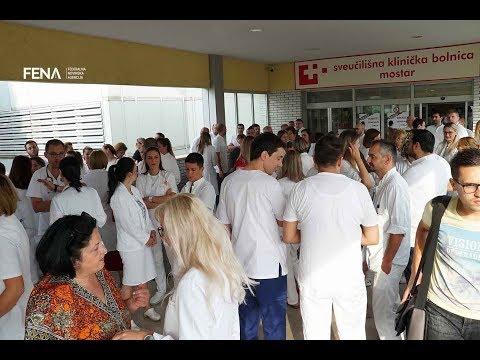 Doktori Medicine I Stomatologije Održali štrajk Upozorenja