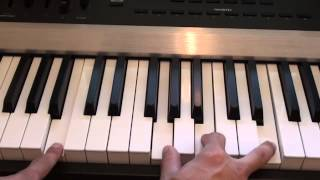 How to play No Angel on piano - Birdy - Piano Tutorial