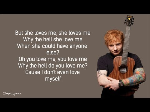 Ed Sheeran - Best Part Of Me (feat. YEBBA)(Lyrics) 🎵