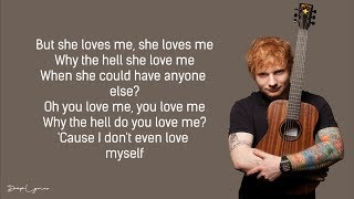 Ed Sheeran Best Part Of Me feat YEBBA Lyrics