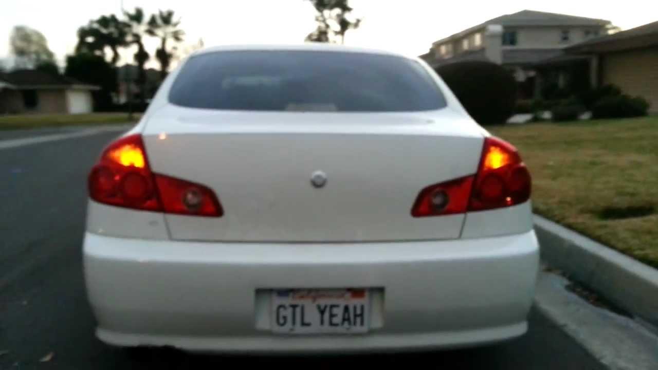 G35 Sedan Jdm Tail Light Mod