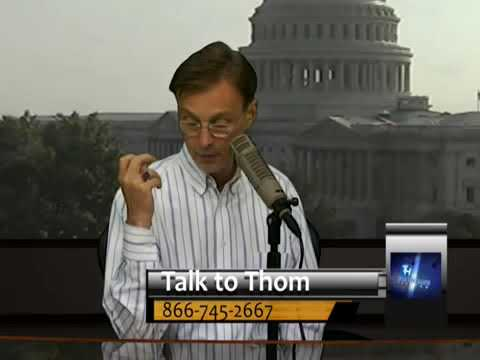 Thom Hartmann on the Origins of the Libertarian Party - Corporate Lobbyists for Big Business