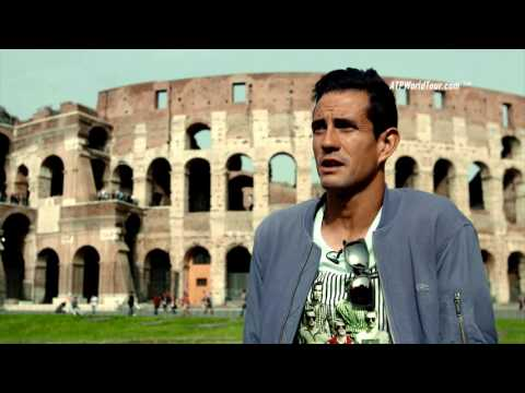 Garcia-Lopez Visits The Colosseum In Rome