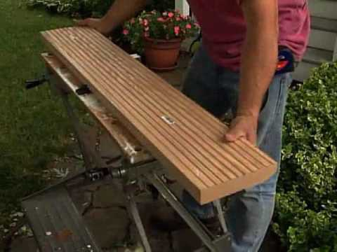 How to Replace a Threshold on an Exterior Door - YouTube