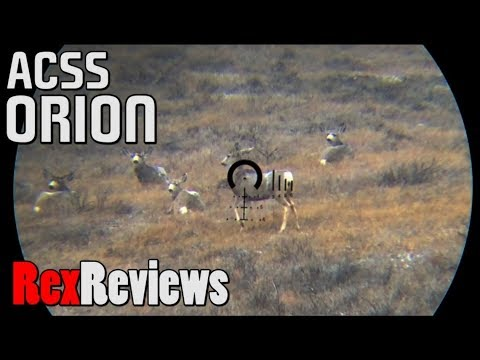 The IDEAL Long Range Hunting Reticle? ~ Rex Reviews the PA 4-14x44mm ACSS Orion