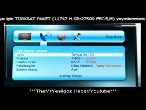 Türksat 4A Tanıtım Videosu-Türksat  4A Otomatik Güncelleme Frekansı