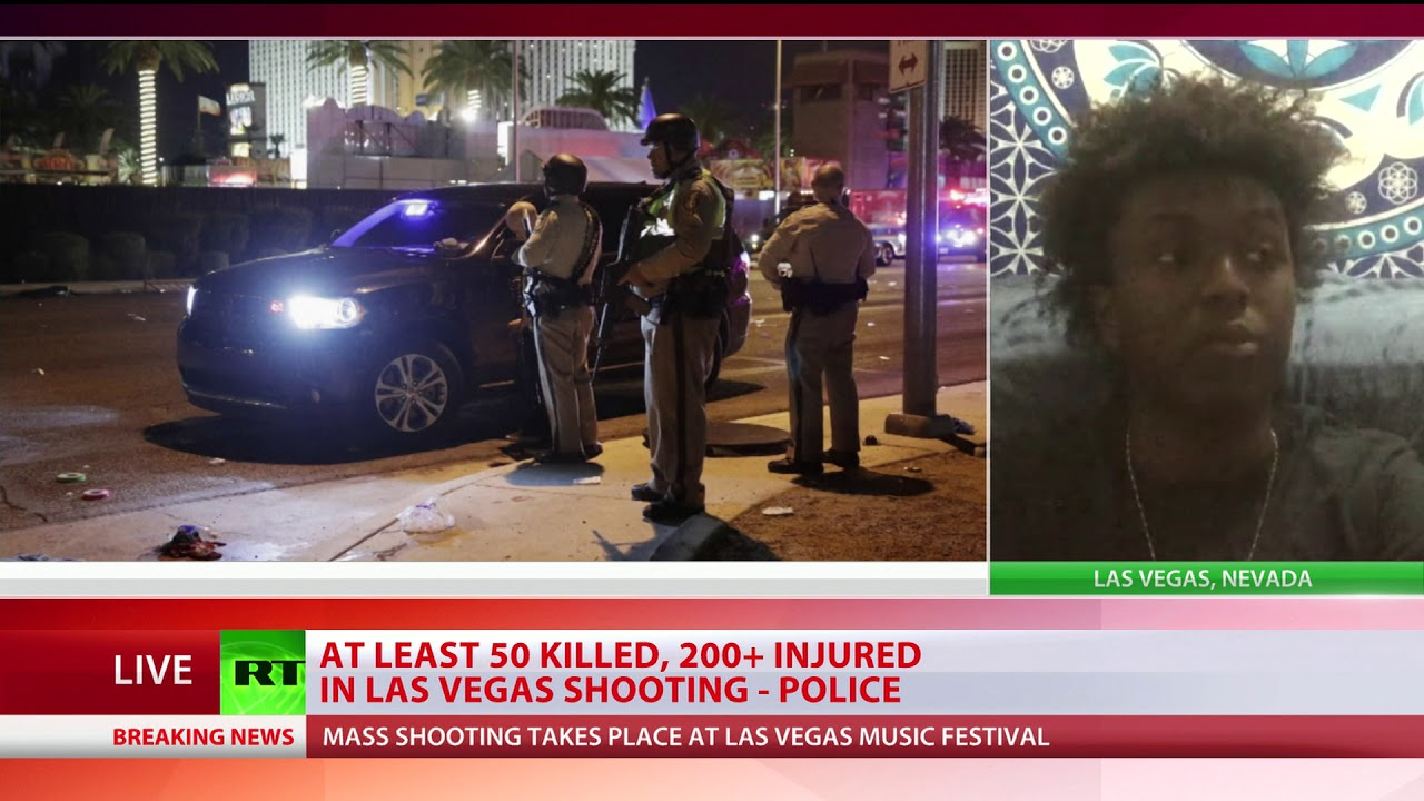 Majority didn't realize there was shooting until second round of shots - Las Vegas witness