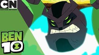 Ben 10 | Enhanced Four Arms is Stuck in the Mud | Cartoon Network