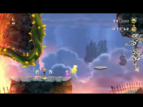 Rayman Legends (X360) LotLD: Grab them quickly! (Daily Extreme Challenge, 16/02/2018)