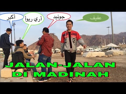 Refreshing With My Friends! BARUDAK MADINAH - TKI SAUDI