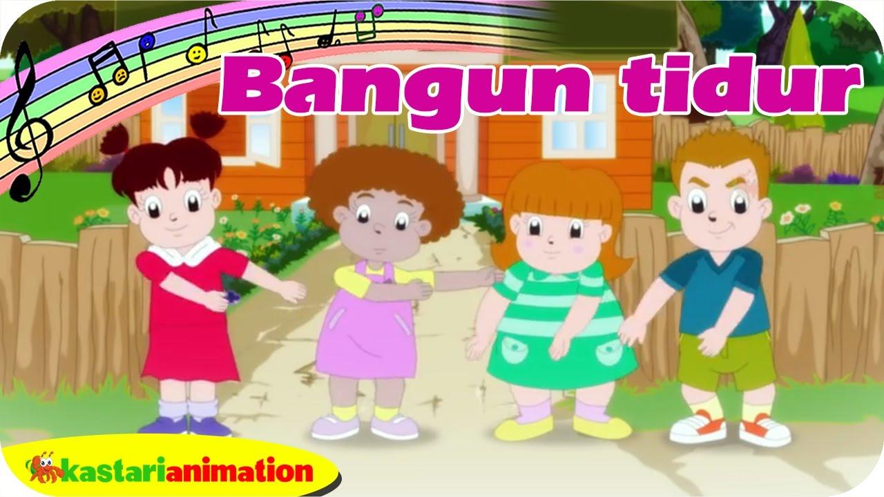Lagu Anak Indonesia New Bangun Tidur Bersama Diva | Kastari Animation Official