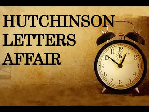 Hutchinson Letters Affair