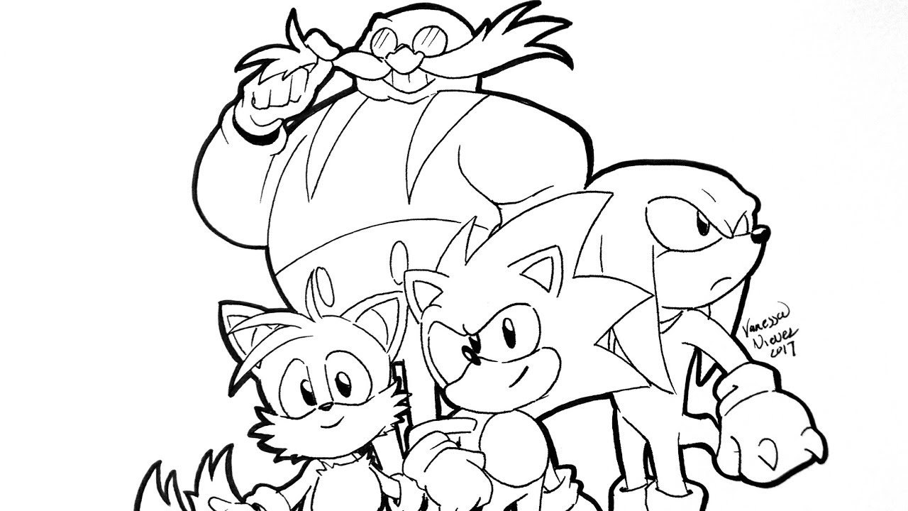 How To Color Sonic Mania