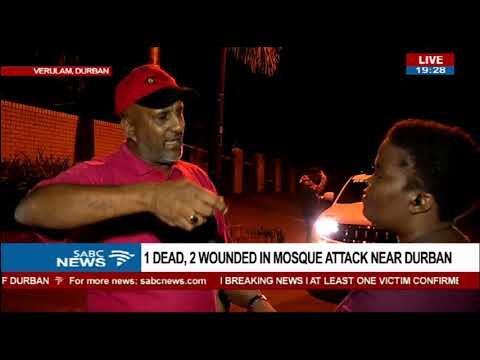 Verulam mosque attackers have ISIS mentality - Izad Seedat