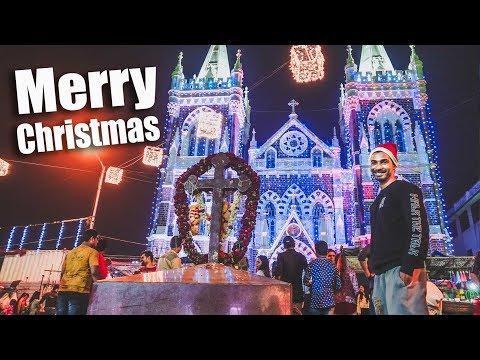 Christmas Vlog 2017 | Mount Mary Bandra, Mumbai