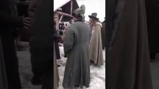 """Сьемки фильма """"Тобол"""" драка постановка)"""