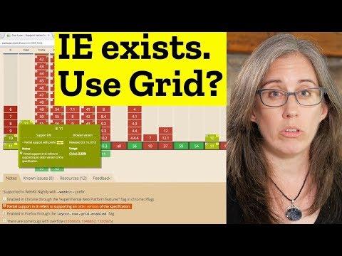 Internet Explorer + CSS Grid????