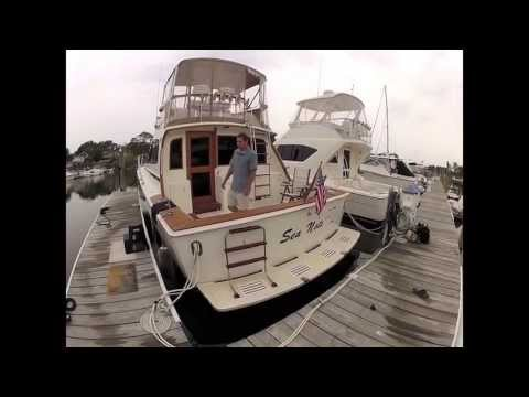 "Egg Harbor Golden Egg 38 ""Sea Note"" for sale by original owners"