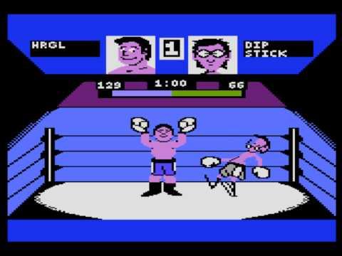 Fight Night for the Atari 8-bit family