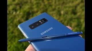 Samsung Galaxy NOTE 8 DEEP SEA BLUE Unboxing & Look Around!!