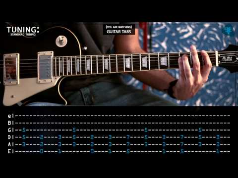 Kings of Leon - Use Somebody (Guitar tabs)