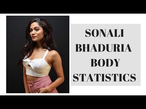 Sonali Bhadauria Height, Weight, Bra Size, Body Statistics, Hair Eye Color