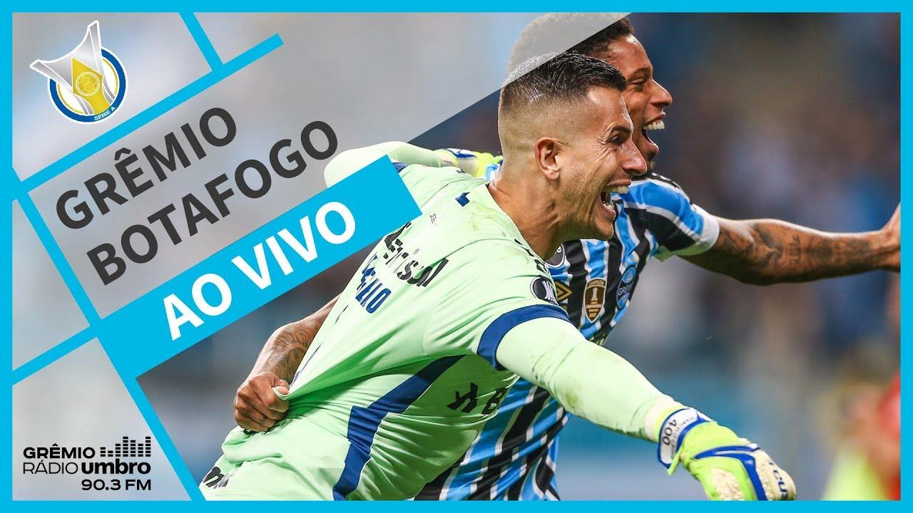 Resultado de imagem para AO VIVO] Grêmio x Botafogo (Brasileirão 2018)