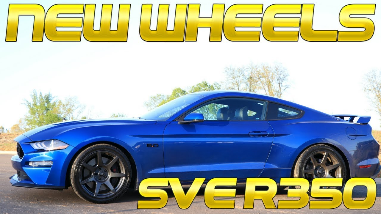 Lmr Sve R350 Wheels 2018 2019 Mustang Gt Youtube