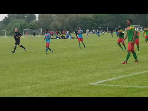 Eritrea has progressed to the next stage of the at game at Inner City World Cup