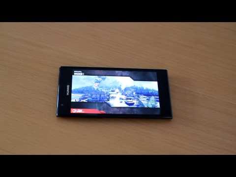 Testvideo Huawei Ascend P2