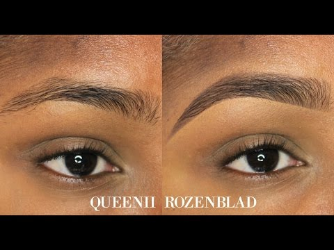 Natural Eye Brow Tutorial Using Pencil