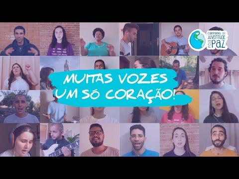 """""""Irmãos se dão as mãos Unindo-se!"""" - Coral da Juventude pela Paz - FJP online - 11/2020"""