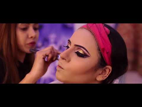 anurag makeup mantra,bridal makeup tutorial  16th march 2018   10 days  hairstyling full course gur