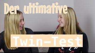 Sind wir WIRKLICH Zwillinge?? Der ultimative Twin-Test I Finja and Svea