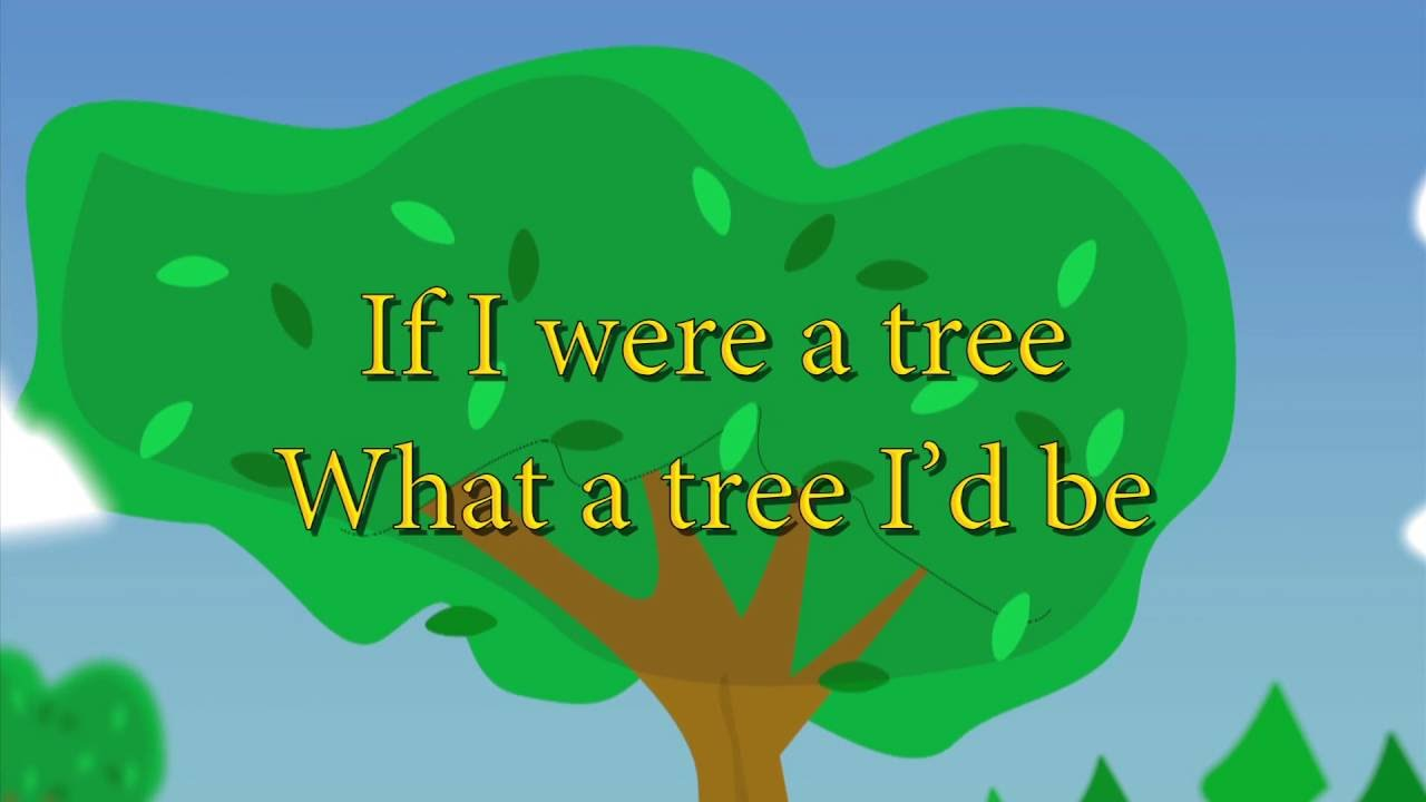 If i were a tree essay in english