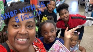 FIVE BELOW SHOP WITH US // SHOPPING FOR LAKE VACATION // SHOP WITH ME