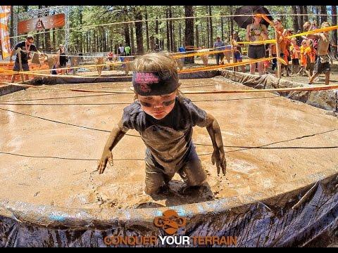 Kids Terrain Mud Run In Flagstaff Az