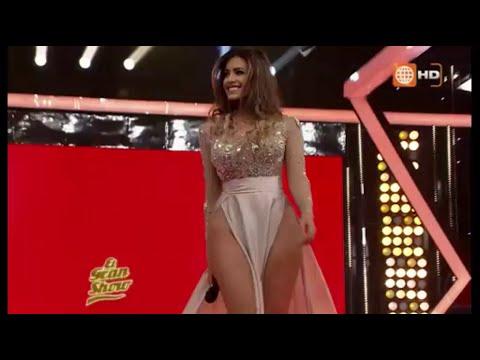 Milett Figueroa Pasarela muestra todo en El Gran Show de Gisela Valcarcel