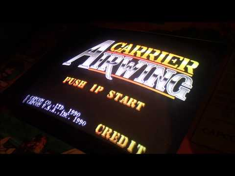 (Arcade) Carrier Airwing - 1 credit clear, 1cc by Pete Hahn