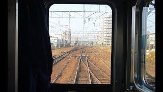 【JR北海道 千歳線】新札幌から札幌まで前面展望 From Shin-Sapporo to Sapporo station in Japan. [Front view]