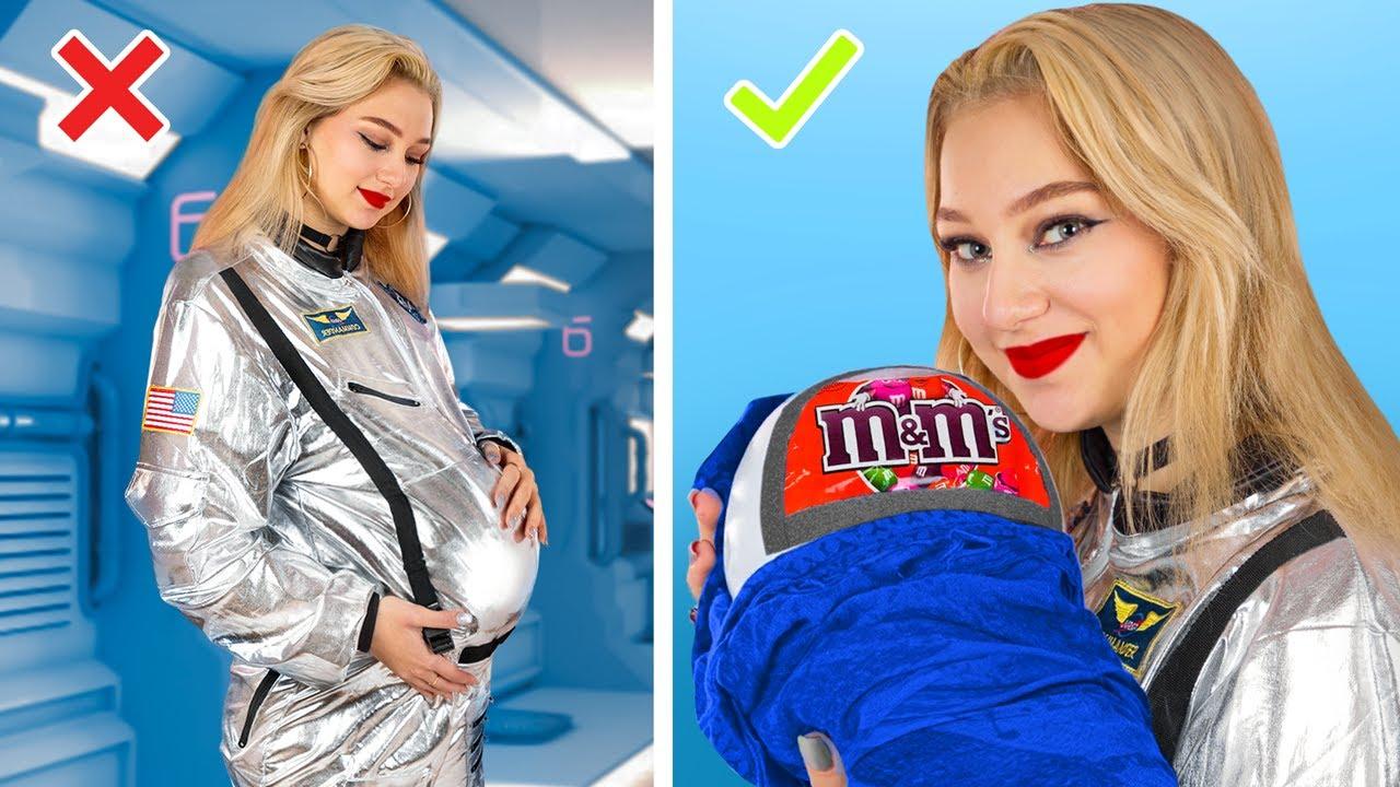Как пронести еду на космический корабль