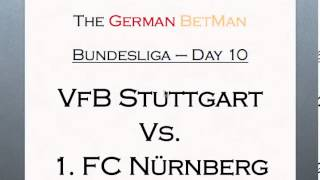 Tips on Sports Betting - VfB Stuttgart vs 1. FC Nürnberg - German Bundesliga 2013/14 - Football