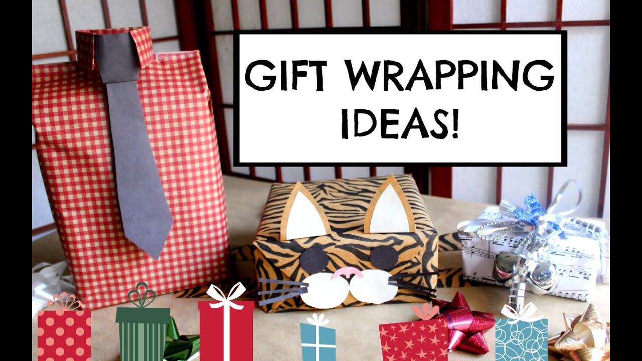 Diy Gift Wrapping Ideas Easy Cute Creative Youtube