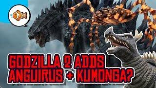 GODZILLA: King of the Monsters Adds ANGUIRUS and KUMONGA? thumbnail