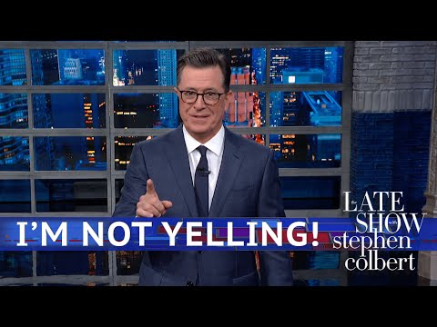 Stephen Colbert&39;s  Monologue Part 2: Hands In The Air
