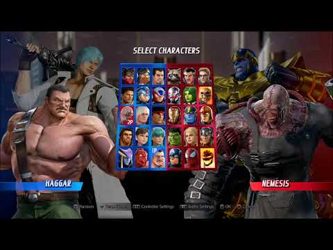 Marvel VS Capcom INFINITE 2VS2 gameplay