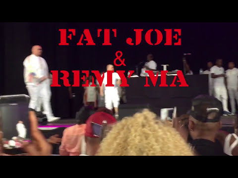 "FAT JOE & REMY MA LIVE IN CONCERT @ THE FORD AMPHITHEATER 7-23-17 ""ALL THE WAY UP""LEAN BACK""SETHER"""