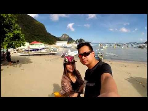 el nido philippines travel video edit gopro